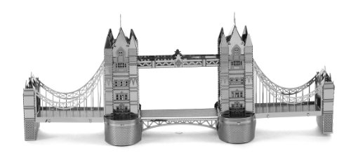 London Tower Bridge England 3 D Metal Etch Model - 1
