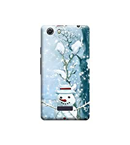 Ebby Premium Printed Back Case Cover With Full protection For Micromax Q372 Unite 3 (Designer Case)