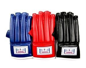 Black Red Blue Martial Arts Glove Female Male jiujitsu Wushu Luva MMA