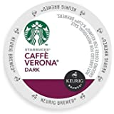 Starbucks Caffe Verona Dark, K-Cup for Keurig Brewers, 96 Count