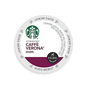Starbucks Caffe Verona, Dark, K-Cup Portion Pack for Keurig K-Cup Brewers 54-Count