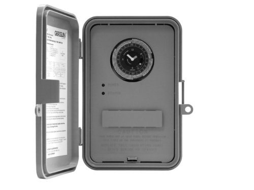 Intermatic Gm40 24-Hour, 40A Spdt/Dpdt, Nema 3R Outdoor Plastic Enclosure