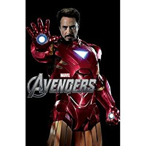 The Avengers Iron Man Robert Downey Jr Marvel Movie Poster