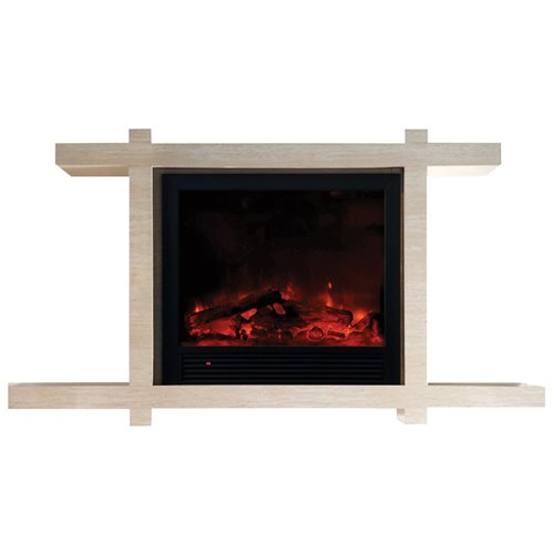 Yosemite Home Decor DF-EFP184 Asian Zen Electric Fireplace, image B005TQV1LM.jpg