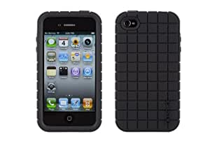 Speck Products PixelSkin Silicone Case for iPhone 4 - 1 Pack  - Black