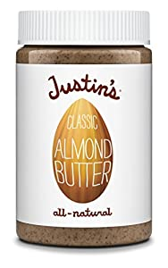 Justin's Nut Butter Classic Almond 16oz Jar 3 Pack
