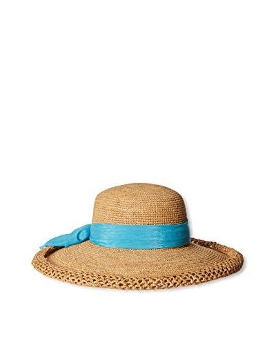 Callanan Women's Woven Hat, Turquoise