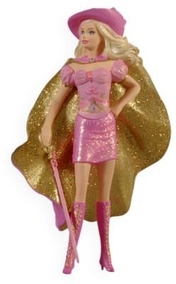 Barbie as Corinne in Barbie & The Three Musketeers 2009 Hallmark Ornament - 1
