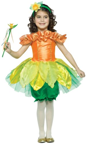 Girls Daffodil Costume