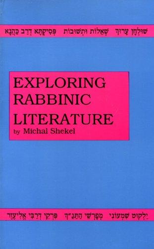 Exploring Rabbinic Literature