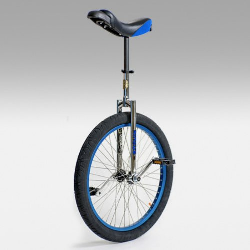 Buy Low Price Nimbus II 24 Inch Freestyle Unicycle with ISIS Hub – Blue (UNI-N-II24BLU)