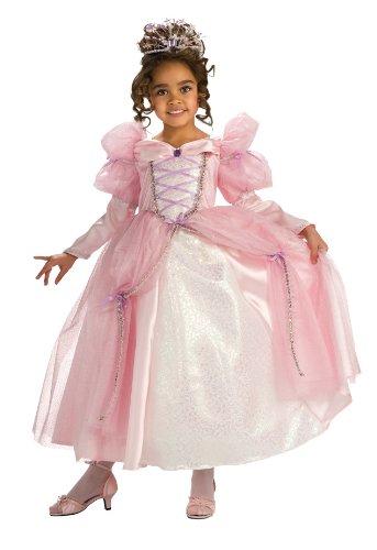 Rubie'S Deluxe Pink Stardust Princess Costume - Medium (8-10) front-1015788