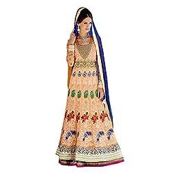 Admyrin Women Georgette Dress Material (Ay-Sk-Dlh-1007 _Peach _X-Large)