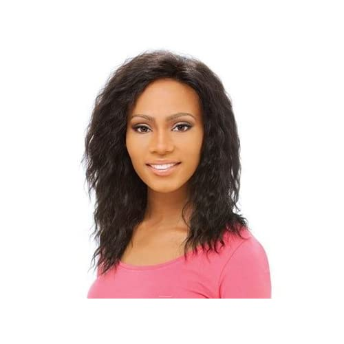 Human Lace Front Wig Eva Color F1B/30 : Hair Extensions : Beauty