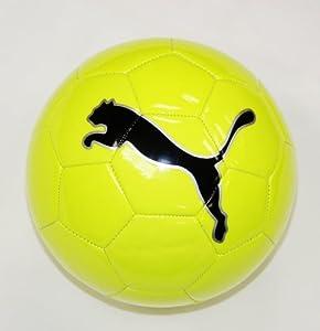 Puma FluoCat Training Soccer Ball, Yellow, 4