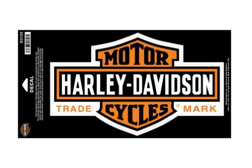 Harley-Davidson Long Bar & Shield Large Size Decal D3125 (Harley Davidson Decal Large compare prices)