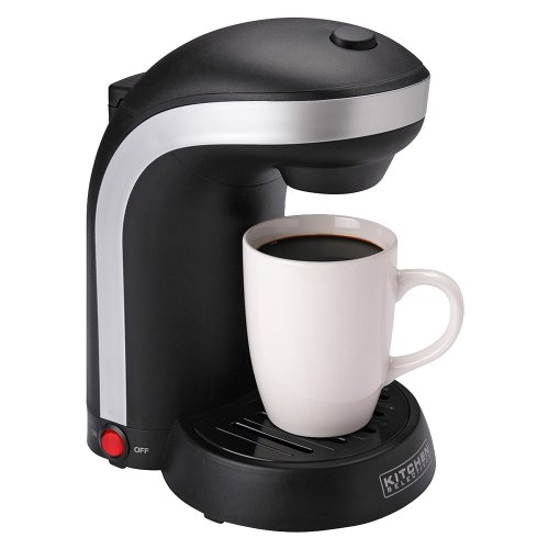 Kitchen Selectives Single Server Coffee Maker - Black
