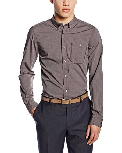Tom Tailor Camisa Hombre Hemd floyd solid optic/512