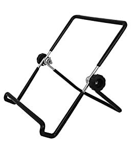 DOMO nHance T21 Universal Adjustable Portable Foldable Holder Metal Stand for Smart Mobile Phones and Tablet PC