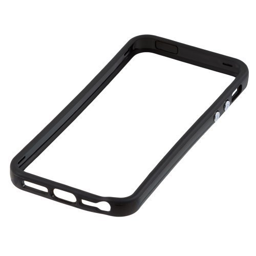 inveror-hard-plastic-rubber-bumper-case-with-metal-buttons-for-apple-iphone-5-black