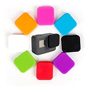 Purple - Lens Protector Cover Lens Cap For GoPro Hero 5 Black Action Camera Accesories