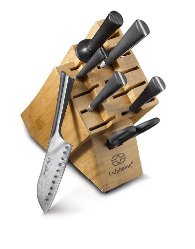 Calphalon Katana Series 8 Piece Knife Set KNS08V
