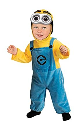 Toddler Minion Costume Boy Minion READ DESCRIPTION CAREFULLY 886672