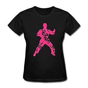 Martial Arts Tribal T Shirts For Womens,Retro T-Shirt