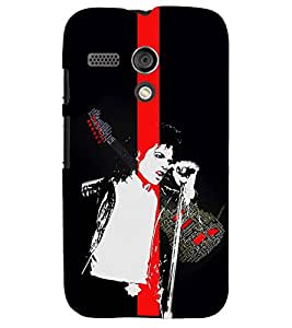 PRINTSWAG SINGER Designer Back Cover Case for MOTOROLA MOTO G