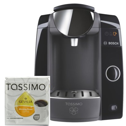 Bosch Tassimo T47 Beverage System and Coffee Brewer with Pack of T Discs