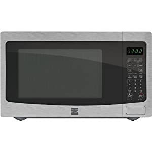 Kenmore 1.6 cu. ft. Countertop Microwave Stainless Steel 73163 from Kenmore