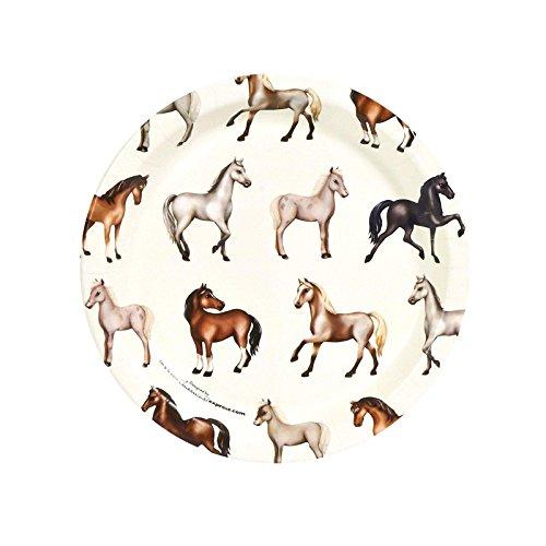 Ponies Dessert Plates (8) - 1