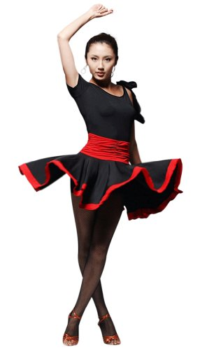 Faship Ballroom Custume dance dress Latin Tango Rumba Salsa Party Competition