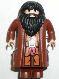 LEGO Harry Potter Mini-Figure Hagrid, Light Flesh and Movable Hands