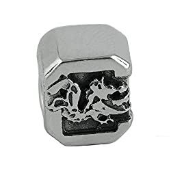 NCAA South Carolina Gamecocks Sterling Silver Logo Charm Bead