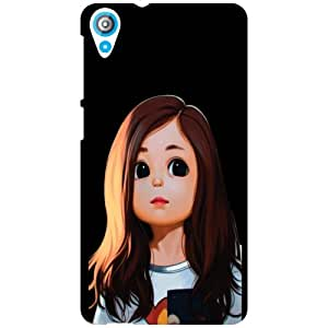 HTC Desire 820Q Back Cover - Big Eyes Designer Cases