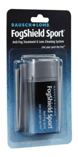 Bausch & Lomb Anti-Fog Treatment & Lens Cleaning System - 0.5 oz Spray Bottle & Micro Fiber 8579