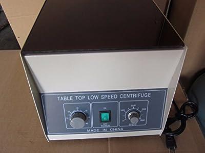 M&N 220V/110V Top Electric Tabletop Low Speed Lab Centrifuge LD-5 4000rpm 8*50ml
