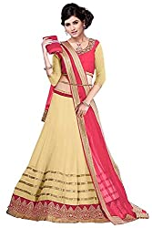 60gmGeorgette Unstiched Party Wear Lehenga Choli (L13-25008_Be...