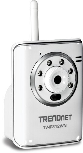 TRENDnet TV-IP312WN SecureView Wireless N Day/Night Internet Surveillance Camera Server with 2-Way Audio