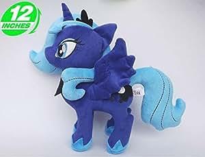 mein kleines pony my little pony pl sch prinzessin luna 30 cm spielzeug. Black Bedroom Furniture Sets. Home Design Ideas