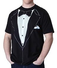 Impact Black Tuxedo T-shirt, Black, X…