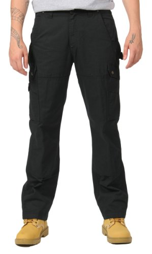 Carhartt Work Trousers - Double Front Work Trousers - CP.B342 Black
