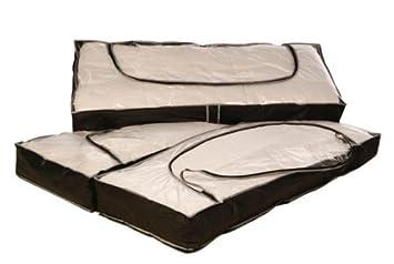 maison fut e housses de de rangement lot de 3 cuisine maison o13. Black Bedroom Furniture Sets. Home Design Ideas