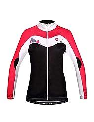 Santic Women's Thermal Fleece Cycling Jersey