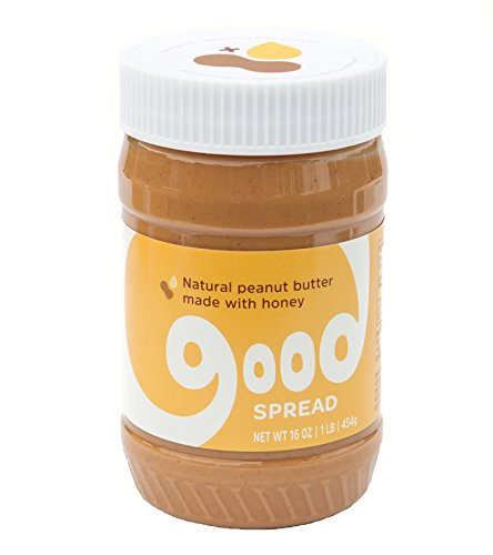 Good Spread Honey Peanut Butter - Natural Peanut Butter, Smooth, 16 oz Jar (Peanut Butter Cup Pie compare prices)