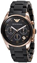 Big Sale Emporio Armani Women's AR5906 Fashion Black Dial Watch