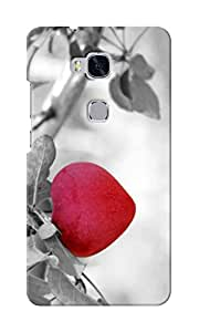 CimaCase Hanging Heart Designer 3D Printed Case Cover For Huwaei Honor 5X