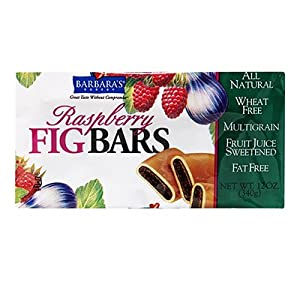 Barbara's Bakery Fig Bars Raspberry -- 12 Bars