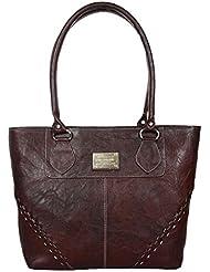 Fashion Pier Brown Color Handbag For Women's (hb003)